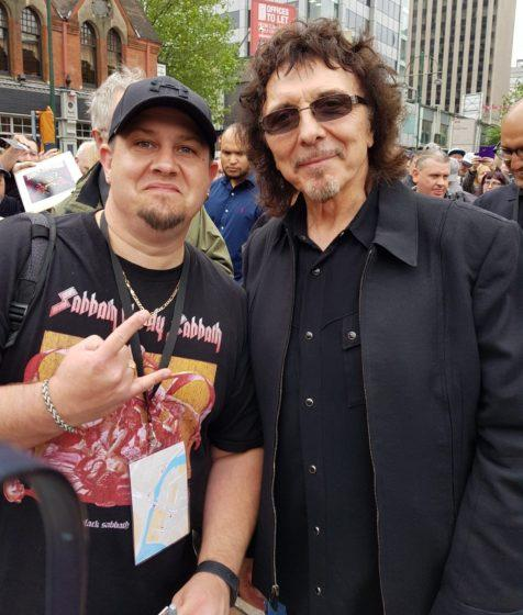 Black Sabbath fan's dream comes true with VIP access to heavy metal legends