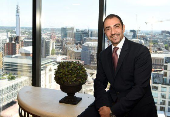 Brum is where the heart is for new Hyatt boss
