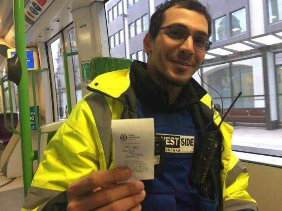 New Metro stop creates door-to-door commute for street warden