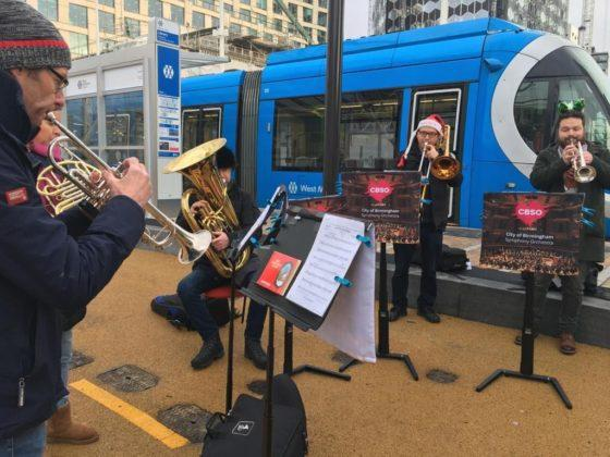 Ding-dong! CBSO celebrates Broad Street tram extension