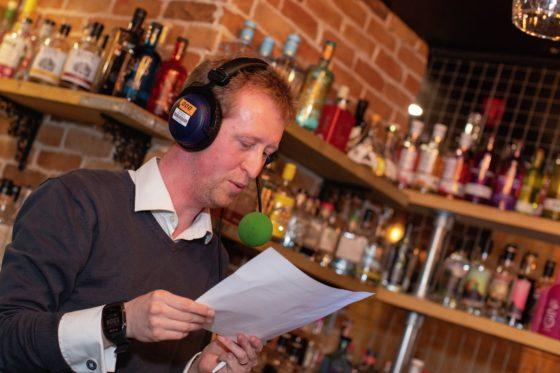 BBC's football commentator runs BID's speed networking