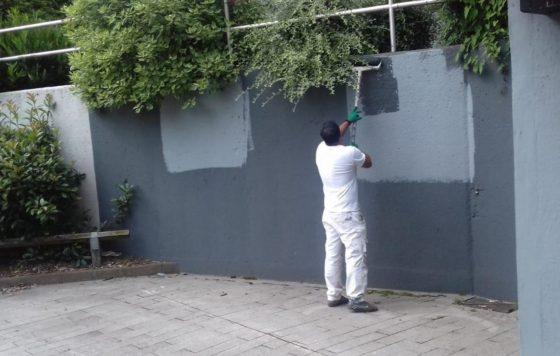 We're declaring war on graffiti