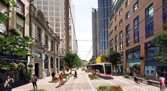 Metro tram's glittering future on Westside's golden mile