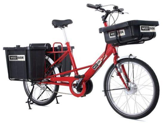 How can your business use Westside BID's new e-cargo bikes?