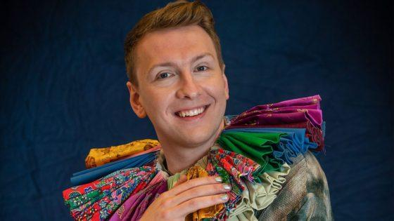 Comedian Joe Lycett turns his talents to the world of art on Westside