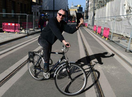 City authorities 'making stuff up as they go along' as tram extension excludes cyclists