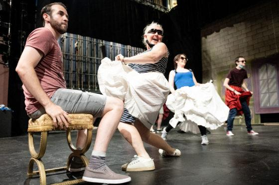 The Crescent WILL go the ball as live theatre returns to Westside