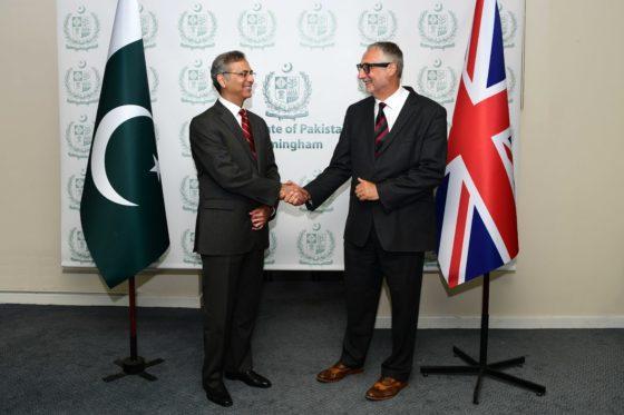 Pakistan's high commissioner welcomed to Birmingham by Westside BID