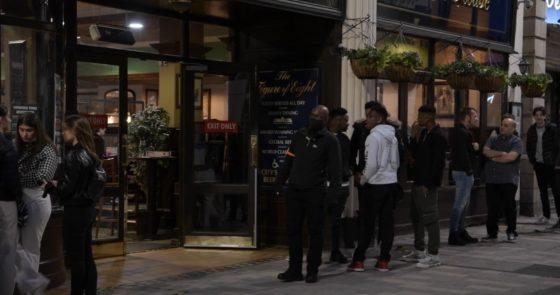 Doorman who displayed calm response to alleged racist abuse is a credit to Westside