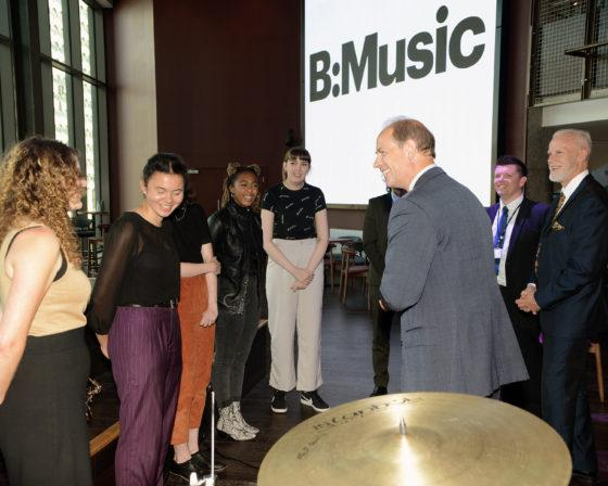 Royal opening of B:Music venue – and BID's own 'princesses' approve too!