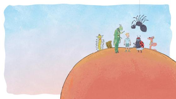 Fruit-filled fun with James and the Giant Peach on Westside this Christmas
