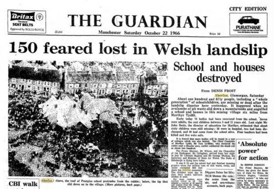Aftermath of Aberfan disaster examined in new production at the Crescent